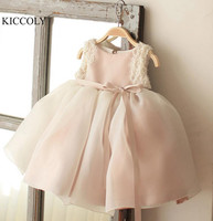 New Baby Christmas Gown Sequins Beads Lace Bow Girl Kids Baptism Dresses Infant Newborn Girl Christening 1 year Birthday Gowns
