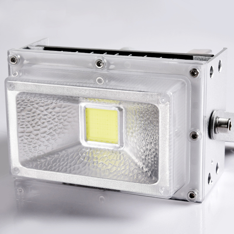 LED Rechargable Portable Solar Flood Light 10W Camping Travel Emergency DC Solar lamp Solar Panel Charging Lamp Outside - 3