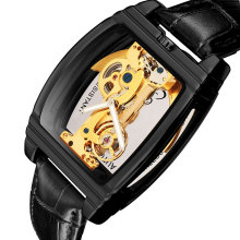 Automatic Mechanical Watch Men Steampunk Skeleton Self Windi