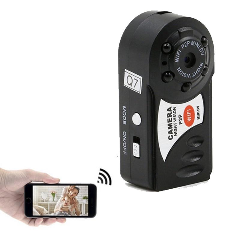 Mini Q7 Camera 480P Wifi DV DVR Wireless IP Cam Brand Video Camcorder Recorder Infrared Night Vision