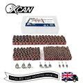 XCAN! 338 шт. #60 #120 #320 шлифовальная лента с 3/8 1/4 1/2 резиновыми оправами для электрической мельницы Dremel  набор вращающихся инструментов  аксессуар...