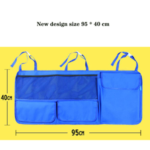 Image 5 - Sac de rangement de voiture auto pour organisateur de voiture sac de coffre de voiture organisateur de siège de voiture grande taille 95*40cm organisateur de coffre livraison gratuite
