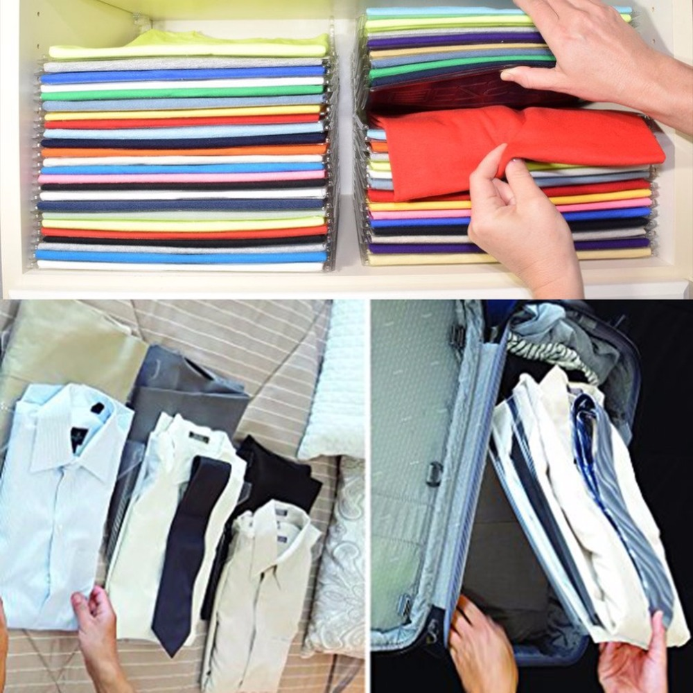 10 Layers Transparent Clothes Organizer System Closet Organizer Drawer Organization Office Desk File Cabinet Suitcase Shelf