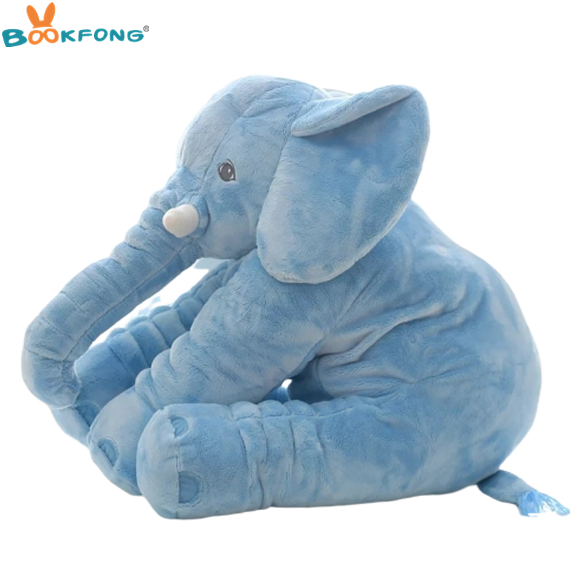Super Soft Baby Infant Appease Elephant Playmate Calm Doll Baby Toys Elephant Pillow Plush Toys Stuffed Animal Doll 20-60cm