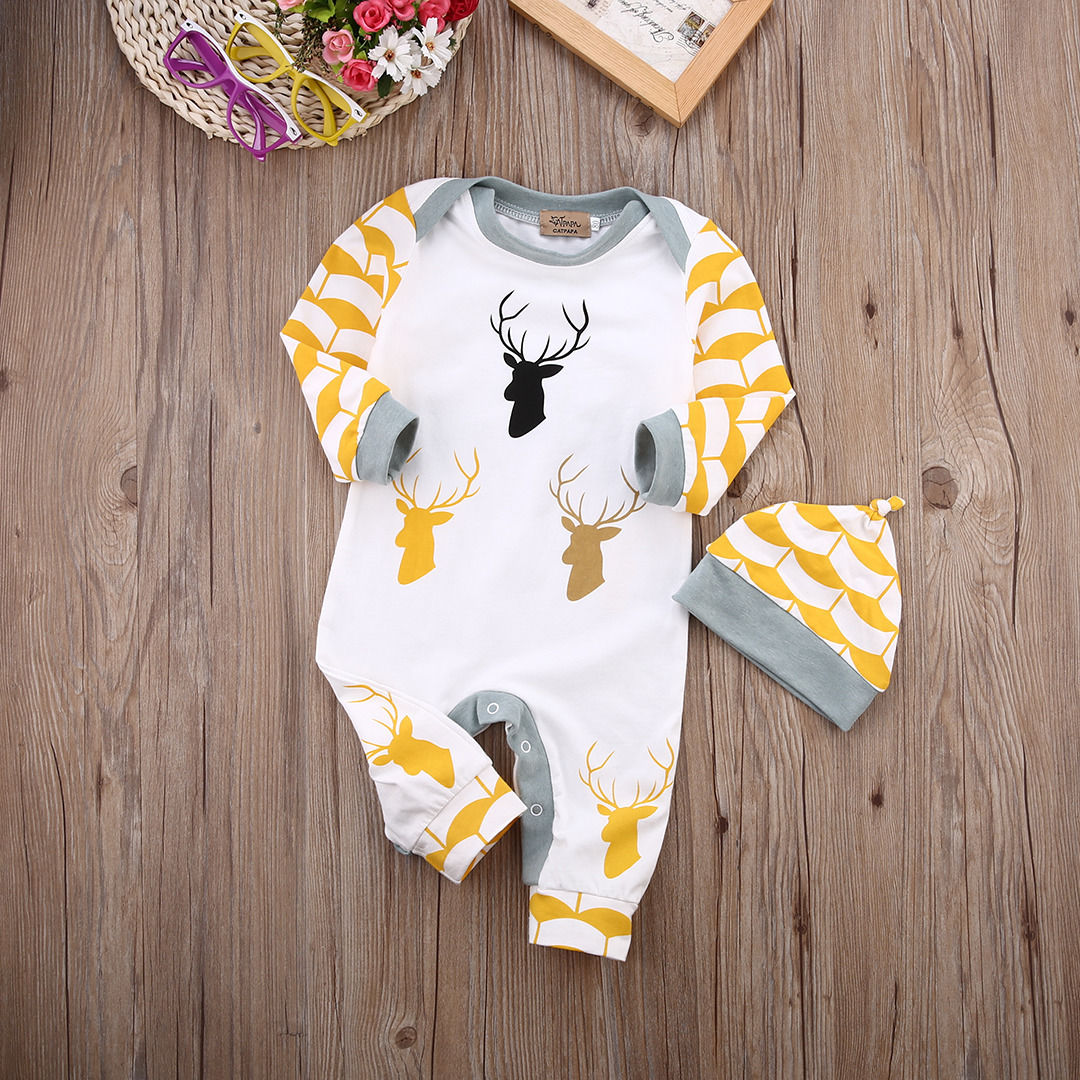 34c51f851cb New 2017 Autumn Winter Baby Rompers clothes long sleeved coveralls for  newborns Boy Girl Polar Fleece baby Clothing with hat-in Rompers from  Mother   Kids ...