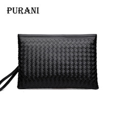 PURANI Mens Wallet ipad phone Purse Men Clutch Zipper Handy Bag Credit Card Holder Solid Fashion Male Long