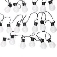 10m 38 Led Globe String Light Outdoor Fairy Lights Garland G50 Bulbs Garden Patio Wedding Party Christmas Decoration Light Chain