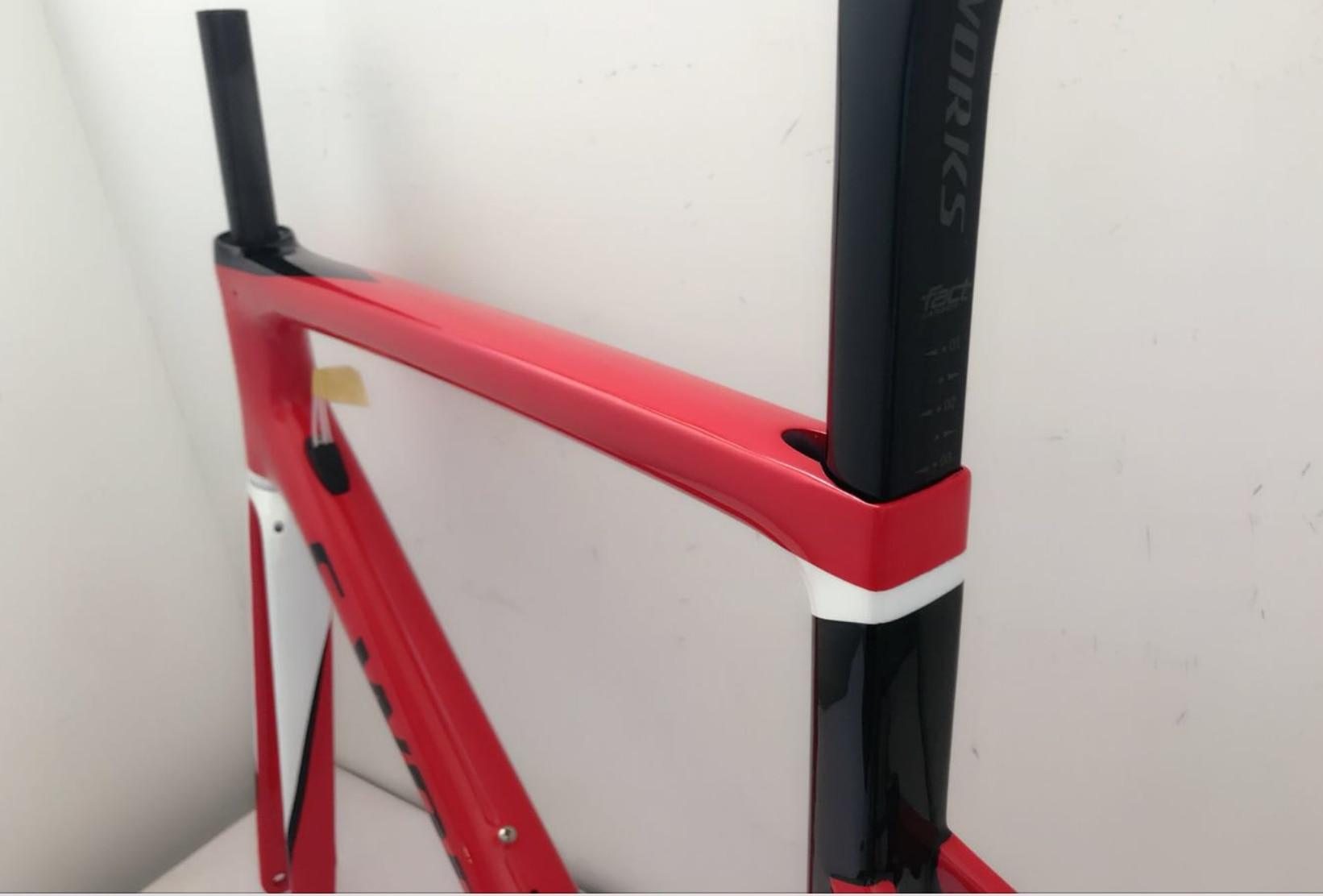 Disc Brakes / V Brakes For Your Selection T1100 UD Matte Glossy SL6 Carbon Road Frames Seatpost Fork Headset Free Ship