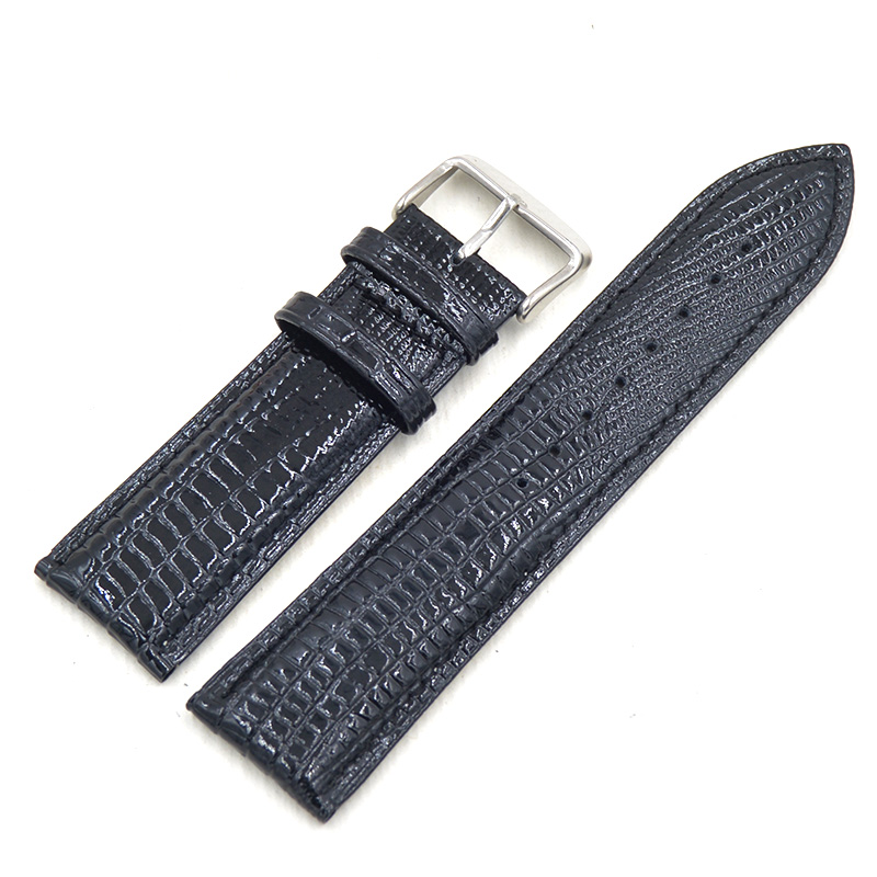 12 14 16 18 20 22 24mm Glossy Leather Watchbands for Casio Seiko Citizen Armani Fossil Timex CK Watch Bands Quick Release Straps