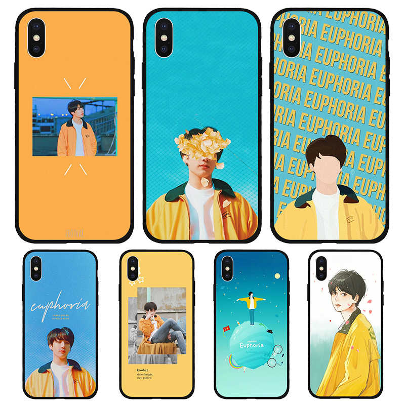 Чехол для телефона Euphoria Jungkook KPOP MAN для Apple iPhone11 pro max X XR XS MAX 7 8 7plus 6 6S Plus 5 5S SE