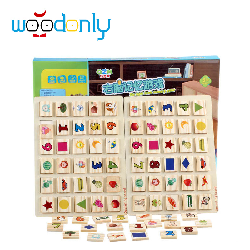 Wooden toys right brain memory test children give their children the best gift toy bricks montesorri interests memory match stick chess kids children assemblage wooden toys memory match stick chess game educational toys gift