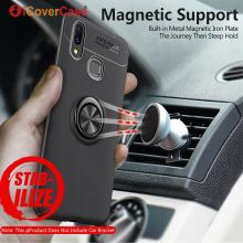 360 Rotating Finger Ring Stand Case Cover For Xiaomi Mi Max 3 Magnetic Car Holder Silicon Soft Case For Xiaomi Max3 Coque Etui(China)