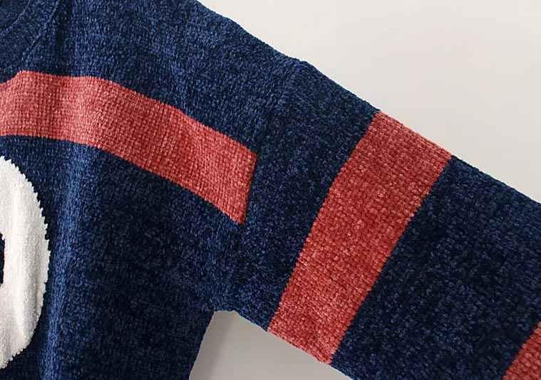 F42 осень-зима Свободные свитеры 3XL плюс Размеры женская одежда модные свободные пряжа синель Вязание пуловеры 8901