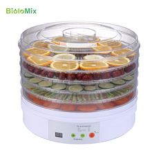 Food Dehydrator Digital Dehydrator Machine with LED Display Timer Professional Food Vegetable Dryer 5 Removable Trays BPA-Free