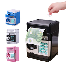 Children Electronic Piggy Bank ATM Password Money Box Cash Coins Saving Safe for Child Kids Birthday Gifts New