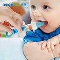 Alimentador de alta Qualidade Macio Colher Bpa Livre Silicone de Alimentação Do Bebê Kid Médica Agulha Tipos Colher Garrafa de Segurança Para Crianças Recém-nascidas