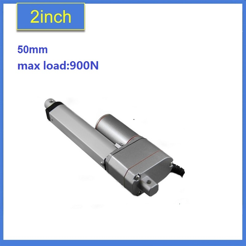 2inch/ 50mm Stroke Position Feeback Linear Actuator With Potentiometer,12V DC 900N/198lbs Load Capacity sayoon dc 12v contactor czwt150a contactor with switching phase small volume large load capacity long service life