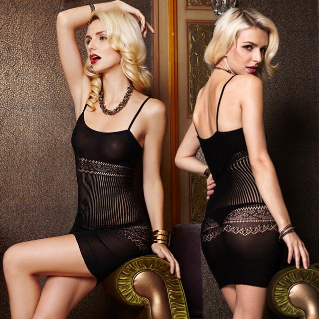 Envío libre de gama Alta de moda Siameses sección de red de malla medias de red tirantes falda paquete de la cadera ropa overoles pie