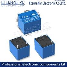 Time Relays SRD-09VDC-SL-C 5V 6V 9V 12V 24V 48V DC 10A 125V 250V AC SPDT NO Typc A 4PIN B-M C 5PIN PCB T73