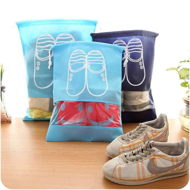 Сумка для хранения обуви для путешествий Портативная сумка на шнурке Пылезащитная крышка сумка полезные дорожные аксессуары
