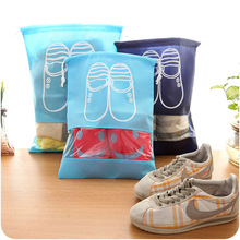 Travel Storage Shoes Bag Portable Drawstring Dustproof Cover Pouch Useful Travel Accessories