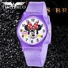 ①  Cute Mouse Детские Часы Водонепроницаемый Плавать Детские Часы Многоцветный Ремешок Relojes Mujer Му ①