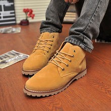 Winter boots men's shoes made of genuine fur Men's Casual Fashion Flats Shoes Free shipping