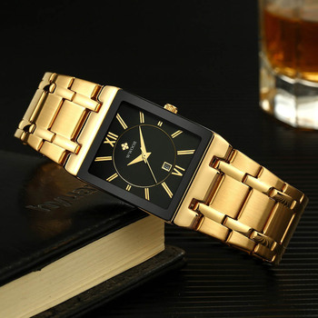 Original Luxury Men Watch Stainless Steel Mens Quartz Wrist Watches Business Wristwatches Relogio Masculino 2019 Whatches wach image