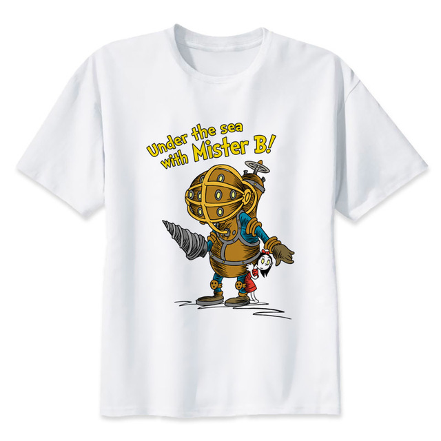 bioshock t shirt hip hop style new original design t shirt cool