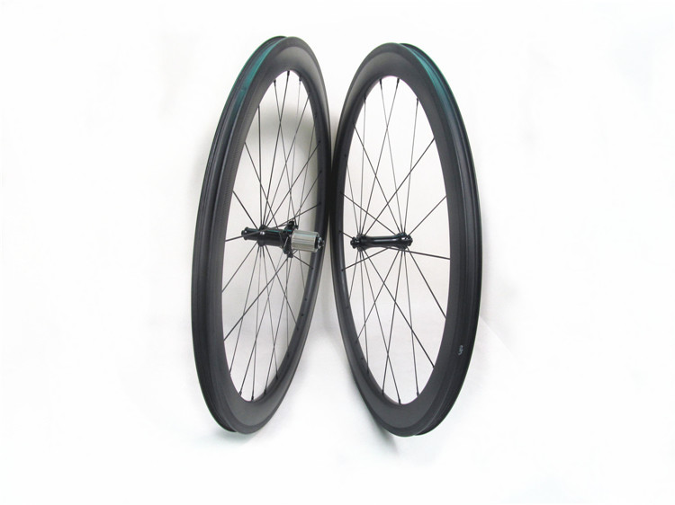 Tubeless Farsports FSC50-CM-23 Yuhub road bicycles 50mm deep China tubeless ready design carbon wheel with straight pull hub