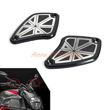 Мотоцикл С ЧПУ Анодированный Алюминий Тормозная Сцепления для Ducati Diavel 2011 2012 2013 2014 2015