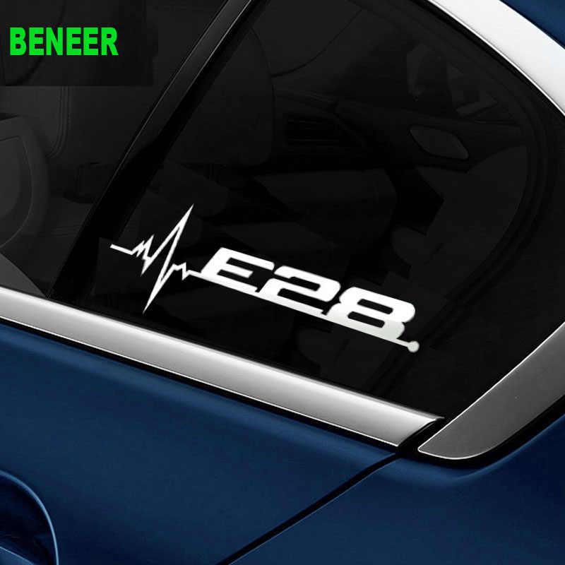 M hiệu suất năng lượng E28 E34 E39 E60 E61 BIỂU TƯỢNG cửa sổ xe nhãn dán nhãn dán Xe cho BMW 5 series 520i 525i 530i 535i