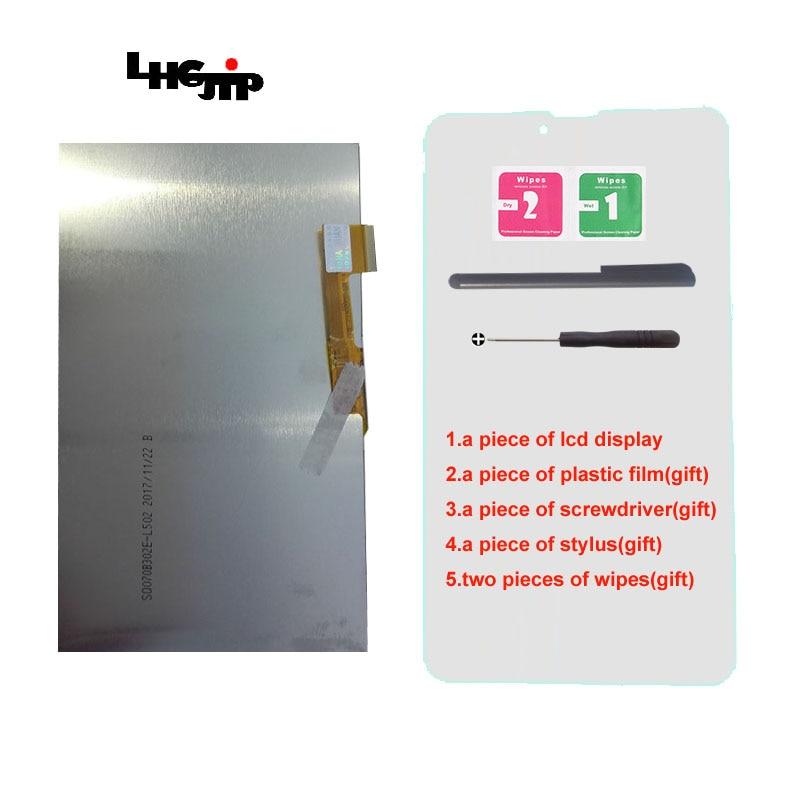 7 polegada 30pin LCD fpc0703008_B FPC0703002_B Tablet 163*97mm Display LCD tela Substituição do painel de tela de Matriz interior