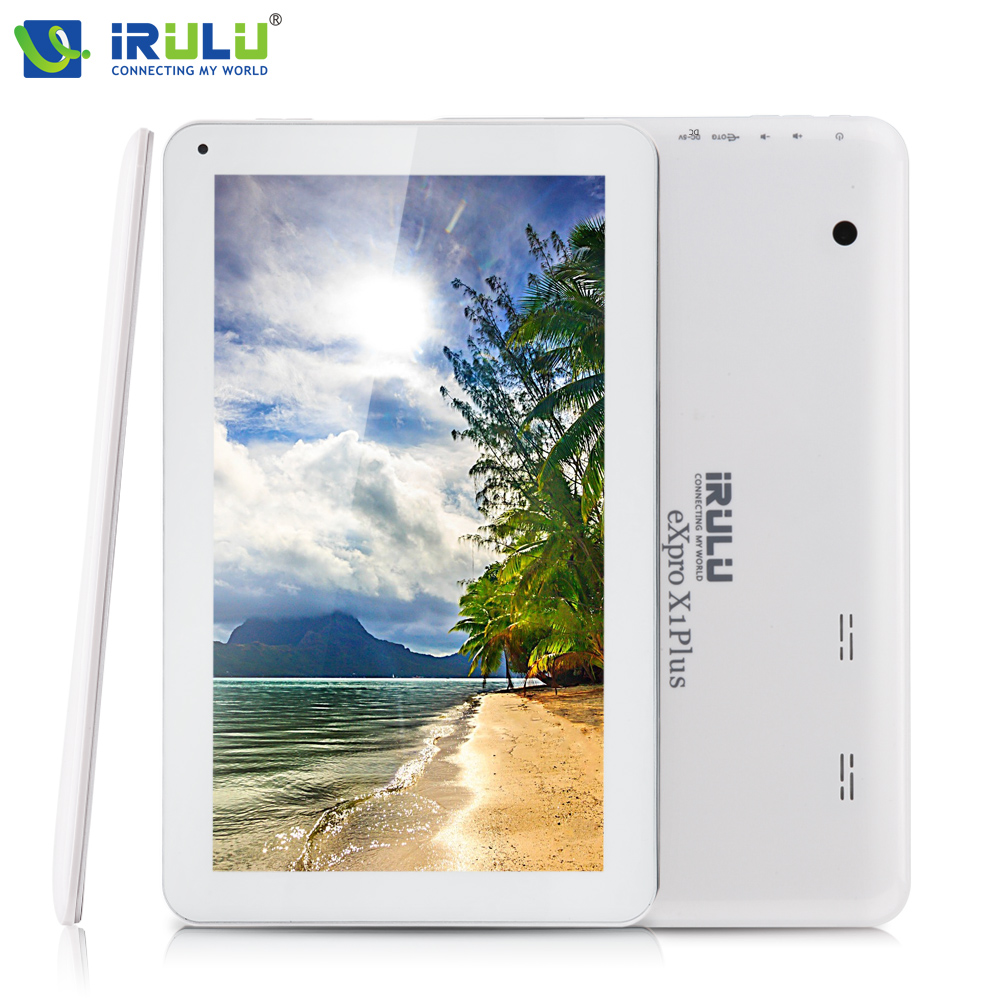iRULU eXpro X1Plus 10 1 Tablet PC GMS tested Quad Core Android 5 1 Tablet 1G