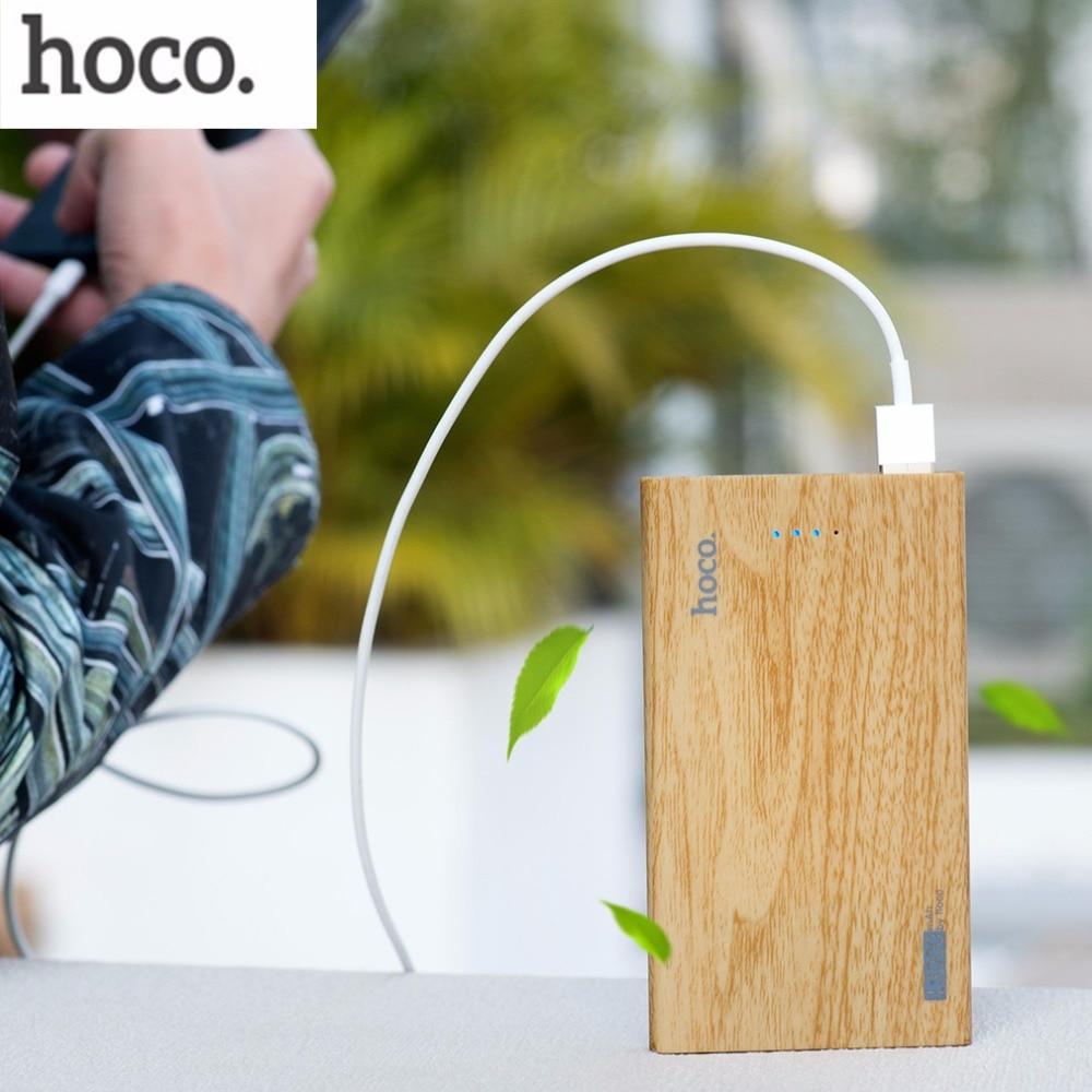 imágenes para Original HOCO B12B Práctico Banco de Potencia ultra-delgada Powerbank Móvil Cargador Universal para el Teléfono Móvil de Gran Capacidad 13000 mAh