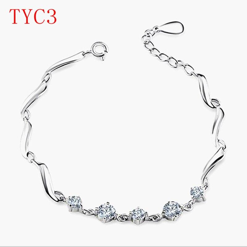 Украшения Новое поступление модные браслет Щепка розы и золото 4 цвета украшения для пара подарок TYC3