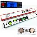 360 grau ângulo Digital localizador Spirit Level 4 de protrator Inclinometer 400 mm 16 polegada de nivelamento Digital Digital