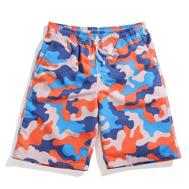 Летний Новый Мода Свободные Шорты Мужчин Модные Плюс Размер Quick Dry Пляжная Одежда Мужчины