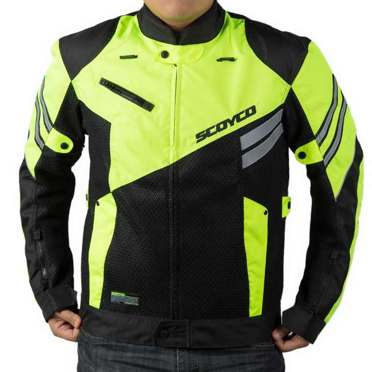SCOYCO JK36 мужские пальто сетка летняя куртка для мотоцикла для верховой езды пиджак рыцарь аварии высококачественный костюм мотоцикл жилет с отражателем