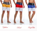 Milankerr Mens Summer Beach Board Shorts Short Casual Board Shorts Wear Swimwear Beach Patchwork Color Trunks Quick-drying Short