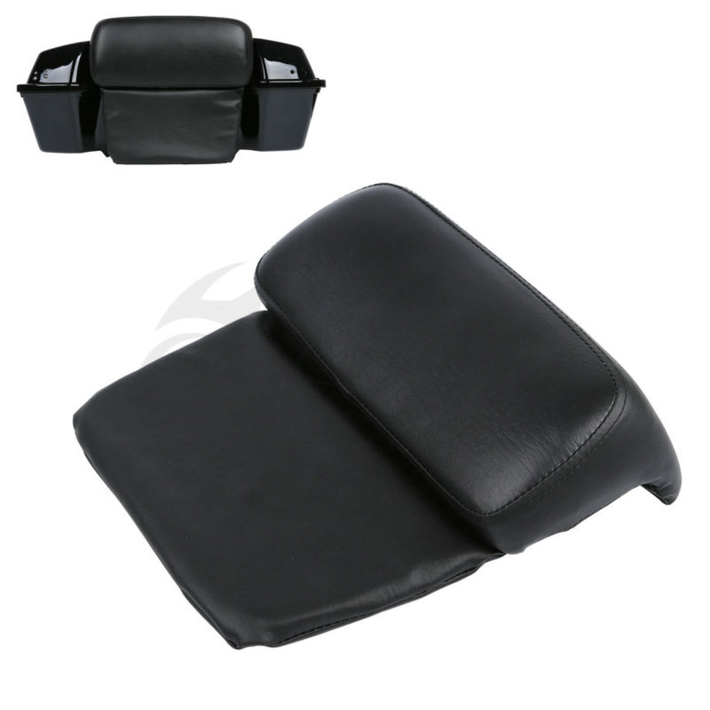 Pillow Pad Backrest Chopped Razor Trunk Pack For Harley Touring Road Glide King FLHR FLT Electra Street Glide FLHX Motorcycle