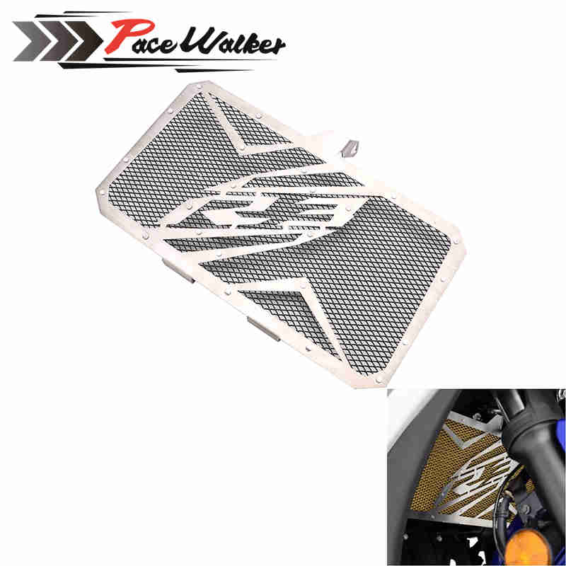 For Yamaha Yzf R3 2015 2016 New Design Motorcycle Accessories Stainless Steel Radiator Grille Guard Cover Protector Hot Sale hot sale motorcycle accessories radiator guard protector grille grill cover stainless steel for yamaha mt07 black color