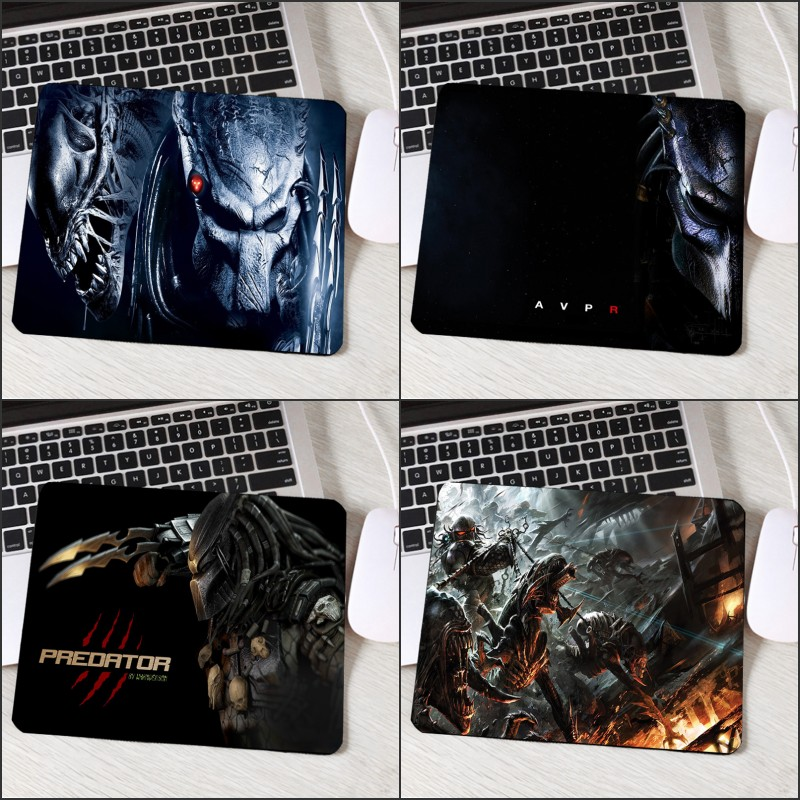 Mairuige Cool Movie Predator Warrior Pattern Alien Monster Printed MousePad Small Rubber Pc Computer Gaming Play Mat Mouse Pad недорго, оригинальная цена