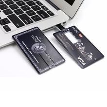 Credit Card USB 2.0 Flash Drive