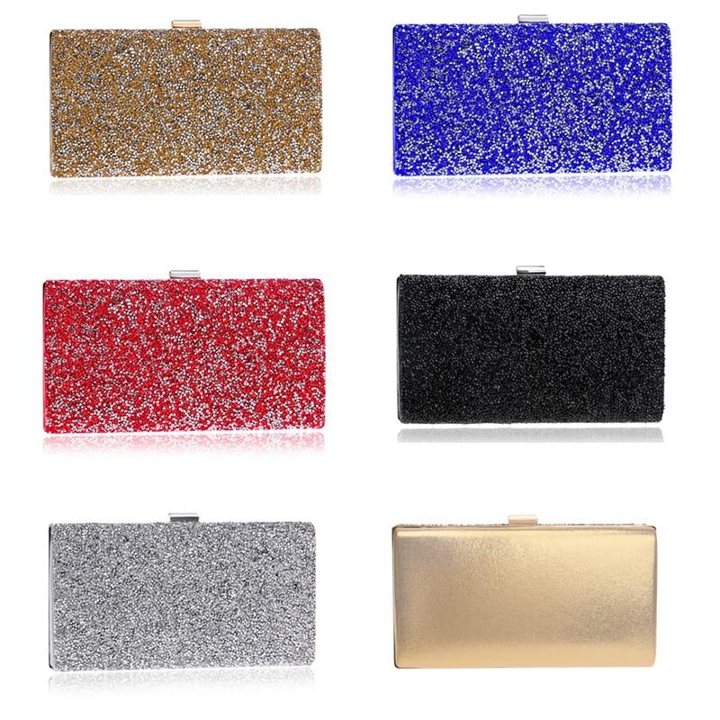 Crystal evening clutch in 10 designs