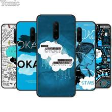 The Fault In Our Stars OKAY Silicone Phone Case for Oneplus 7 7 Pro 6 6T 5T Black Case for Oneplus 7 7Pro Soft TPU Cover Shell