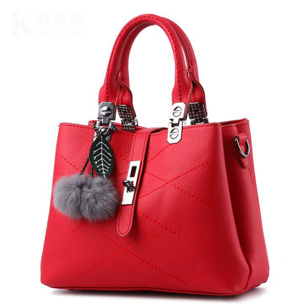 Fashion Genuine Leather Women Handbags Shoulder Bags Lady Totes Casual Lady Bags Leisure