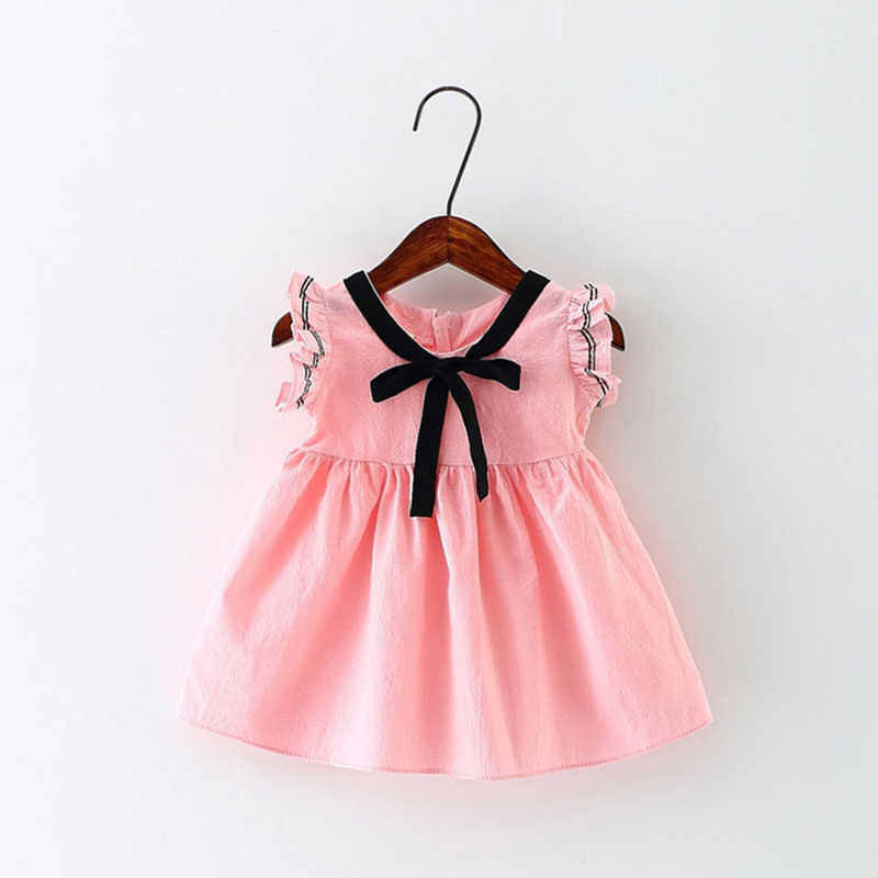 2017 summer girl baby wear clothes brand cotton dress for infant baby girls clothing cute costume princess party dresses dress