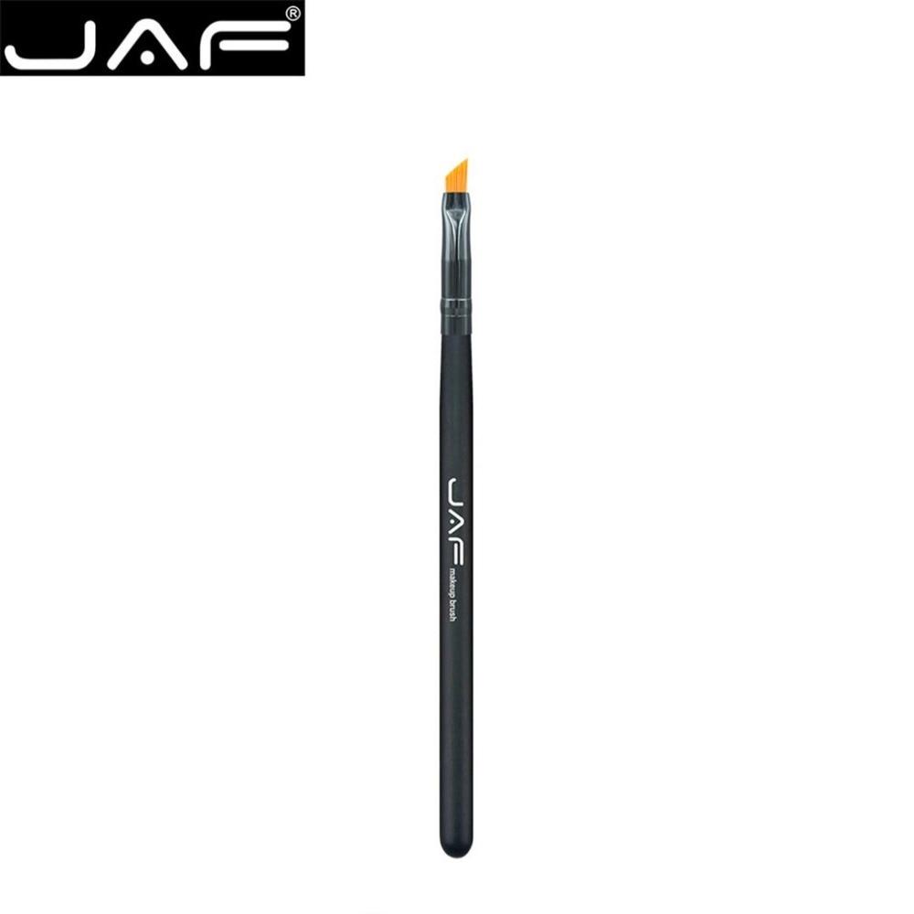 JAF 03SHA Portable Cosmetic Eyeliner Makeup Brush Soft Nylon Hair Wooden Handle Liquid Eye Liner Gel Brush Tool