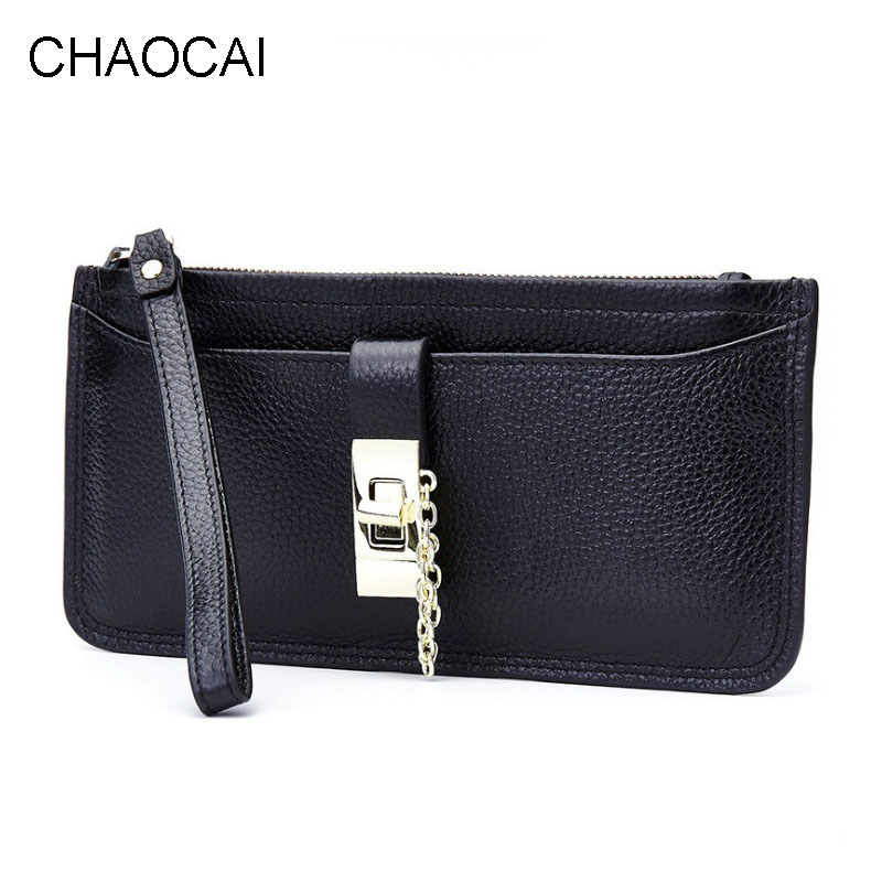 fashion women wallet genuine leather wallet lady card holder bag purse with wrist new design women genuine real leather short wallet zip around purse credit card holder coin change bag with mirror fashion lady id window
